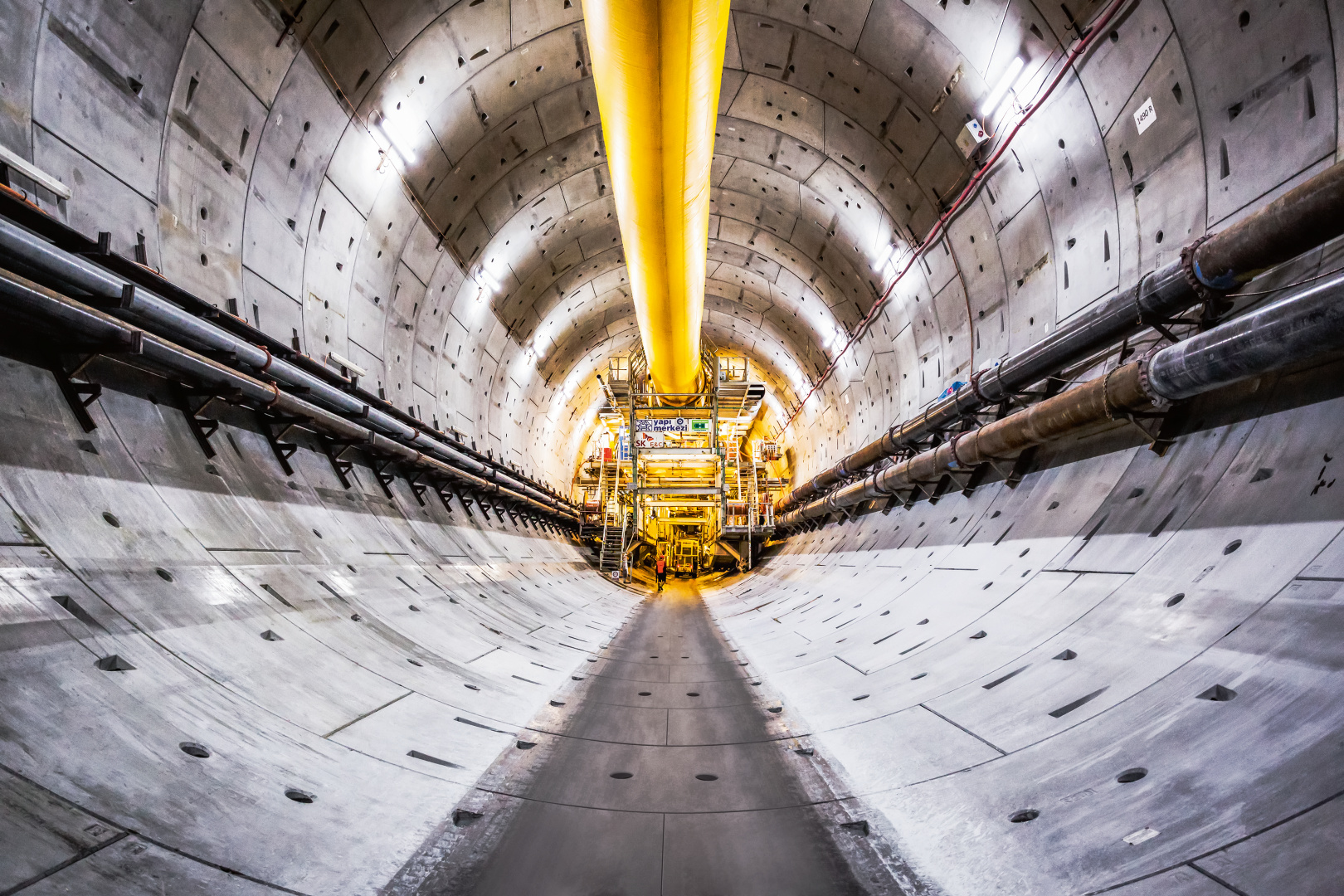 Completed tunnel for the Eurasia Tunnel project, Istanbul, Mixshield, Ø 13,660 mm