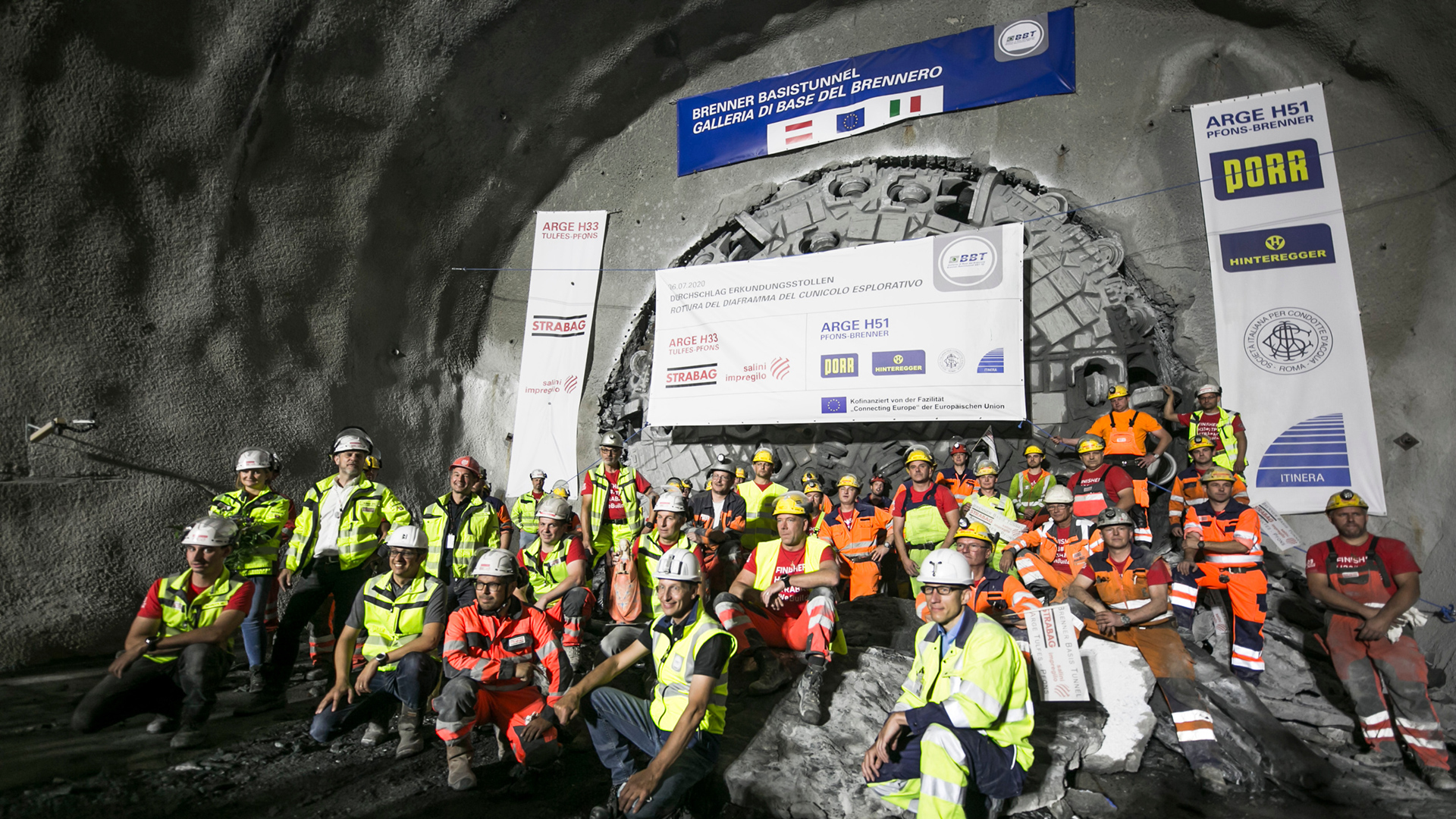 Mega project Brenner Base Tunnel: first milestone achieved with Herrenknecht tunnel boring machine